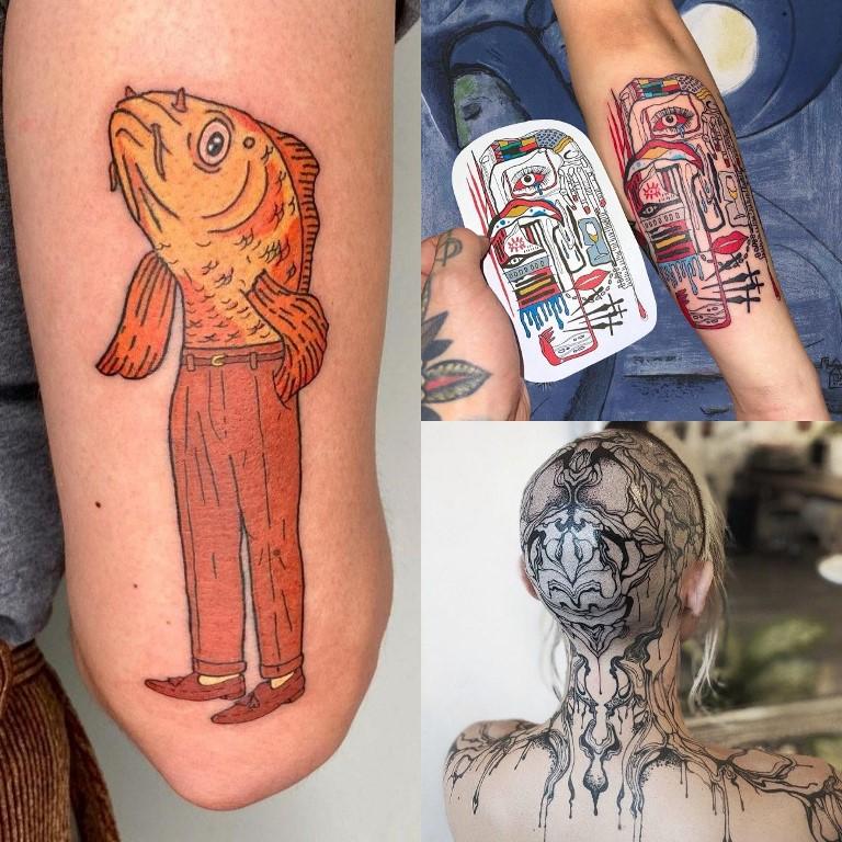 тенденции татуировок 4