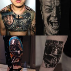 Татуировки из фильмов